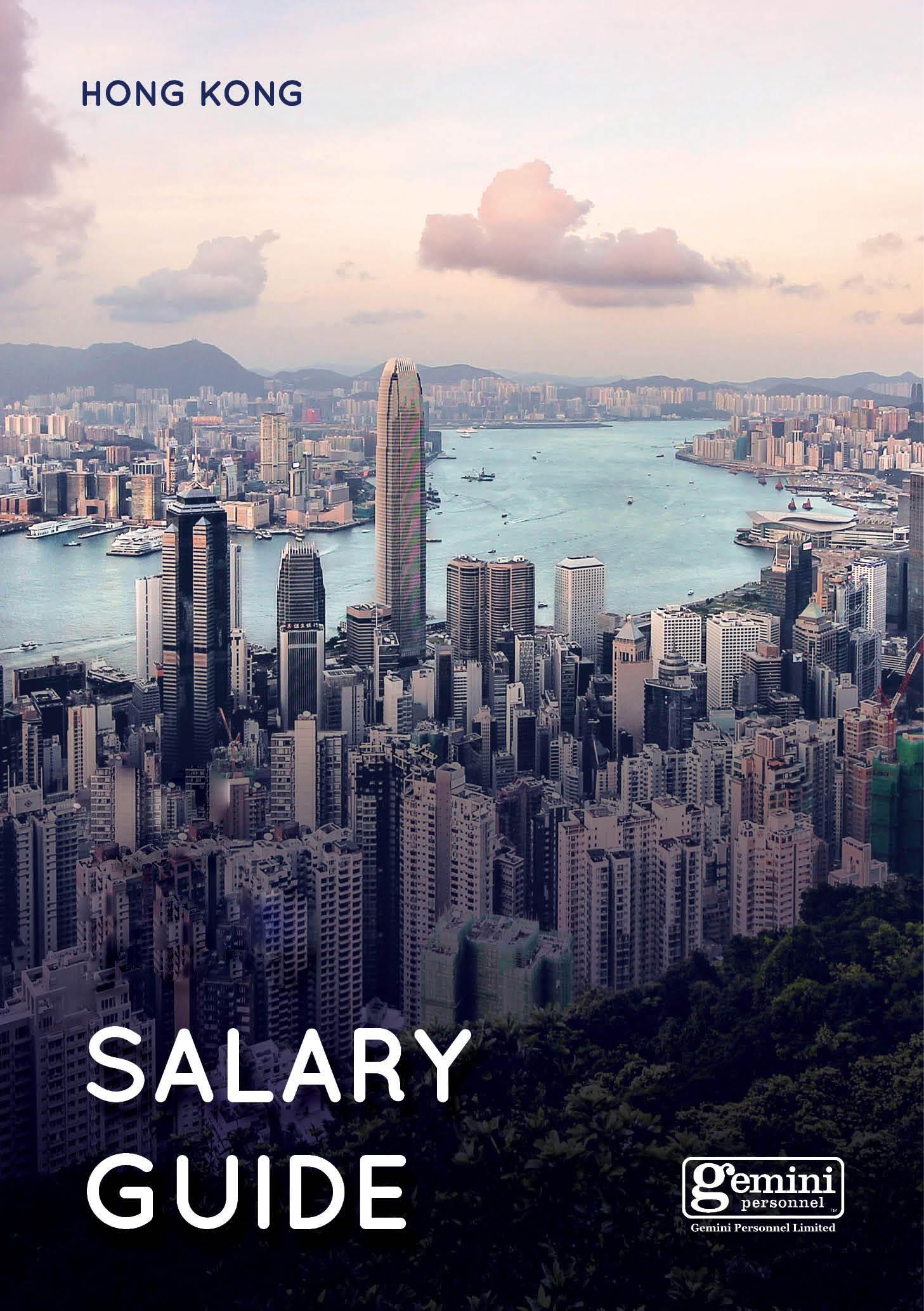 Salary Guide - Hong Kong